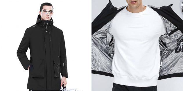 Куртки и жилеты с подогревом: Куртка SUPIELD Aerogel