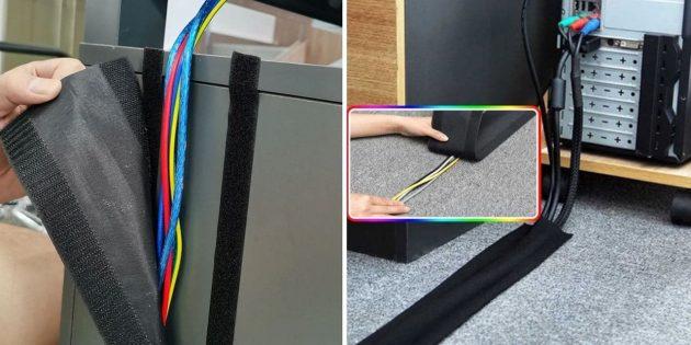 Ленты для организации кабелей
