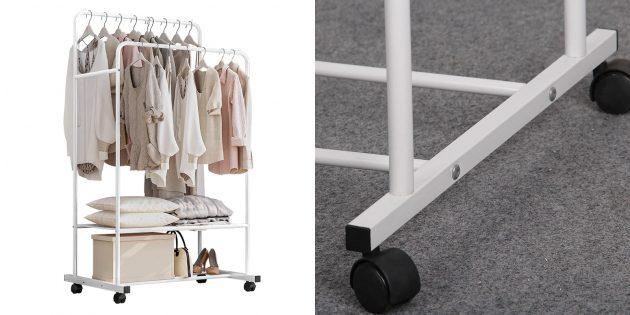 Органайзеры: двухуровневая вешалка-гардероб