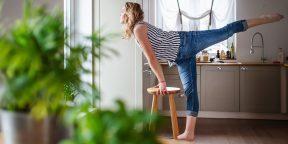 5 причин заниматься дома, а не в тренажёрном зале