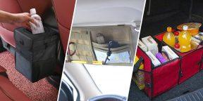 8 органайзеров для салона и багажника автомобиля