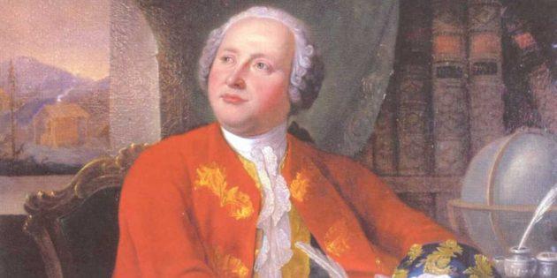 Портрет Михаила Ломоносова