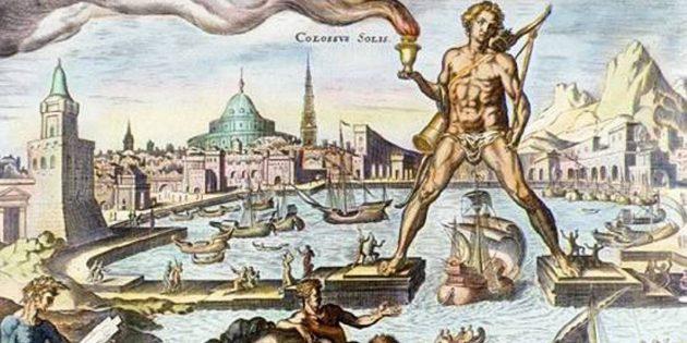 Исторические мифы: Колосс Родосский был так велик, что корабли проплывали у него между ног