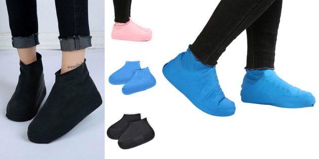Аксессуары для дождливой погоды: чехлы для обуви