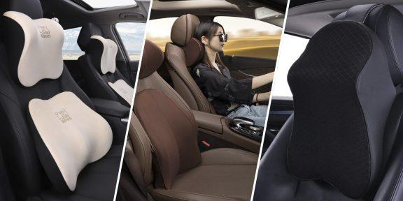 8 ортопедических подушек для комфортных поездок в автомобиле