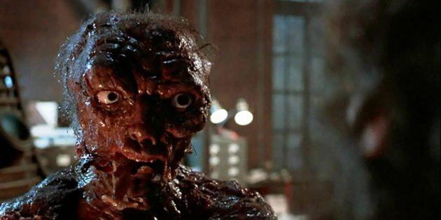 Кадр из научно-фантастического фильма «Муха»