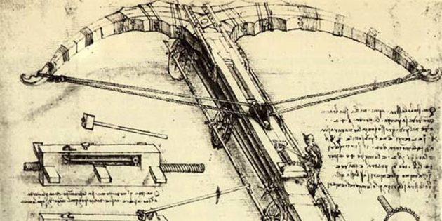 Изобретения Леонардо да Винчи: газовый баллончик для самозащиты