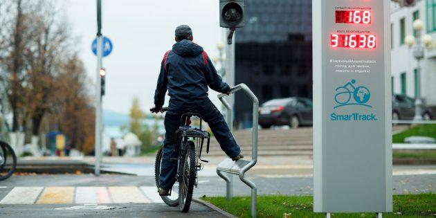 Примеры благоустройства: велодорожки в Альметьевске