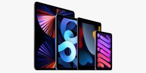 Apple показала обновлённый iPad mini 6 и базовый iPad 9