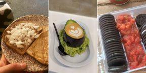 Шоколадный бекон и латте с авокадо: 12 сомнительных сочетаний еды от пользователей Сети