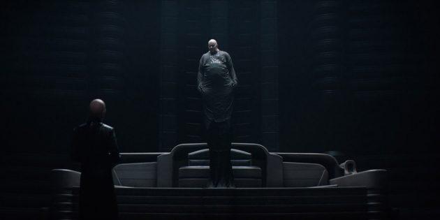 Стеллан Скарсгард. Кадр из фильма «Дюна» 2021года