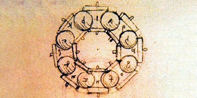 Шарикоподшипник Леонардо да Винчи