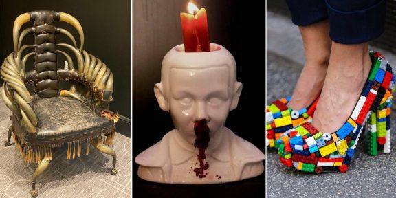 Ужасные идеи дизайнеров с крутым исполнением: 15 фото