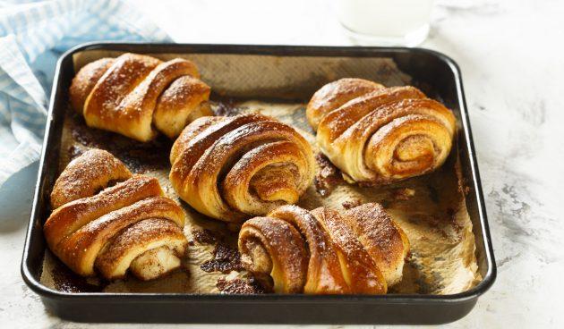 Францбрётхен — немецкие булочки с корицей