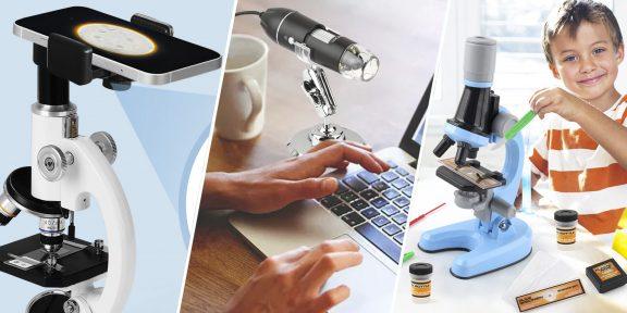 Для наблюдений, пайки и ремонта: 7 лучших микроскопов с AliExpress