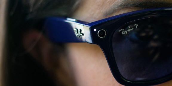 Facebook и Ray-Ban выпустили умные очки для повседневного использования