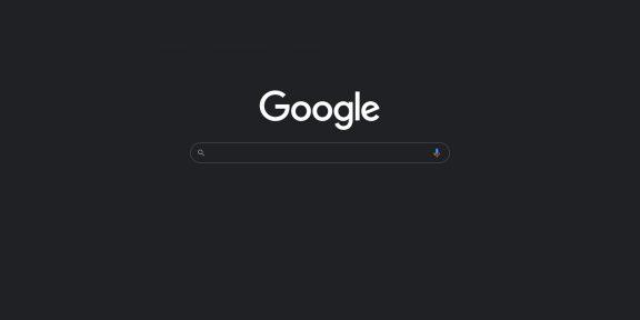 Поиск Google для ПК получил тёмную тему. Вот как её включить