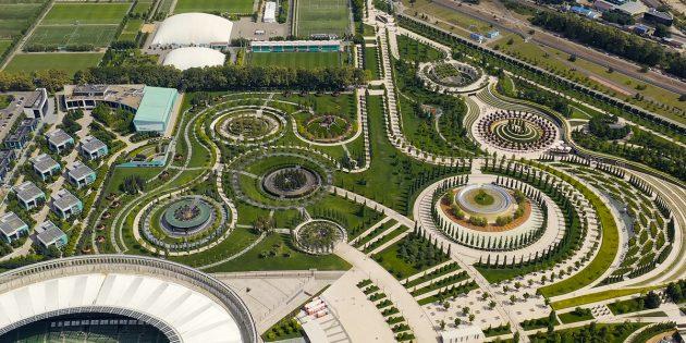 Примеры благоустройства: парк «Краснодар» в Краснодаре