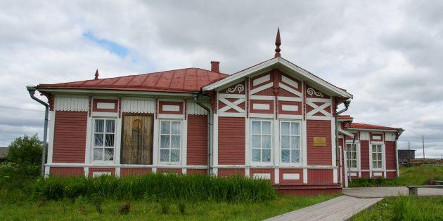 Дом Михаила Ломоносова