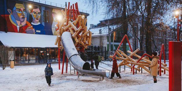 Примеры благоустройства: сквер имени Свердлова в Нижнем Новгороде