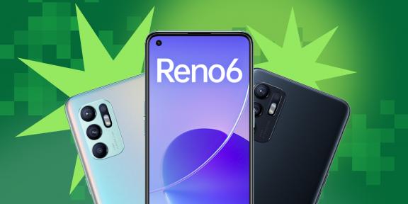 Вышел новый смартфон OPPO Reno6! Узнайте, чем он вам понравится