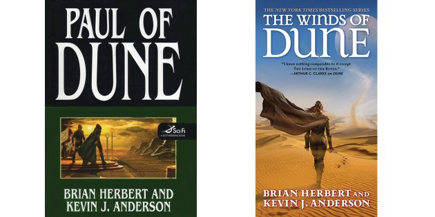 Книги о Дюне по порядку: «Дюна: Пол», «Ветры Дюны»