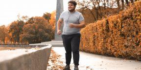 Правда ли людям с большим лишним весом нельзя бегать