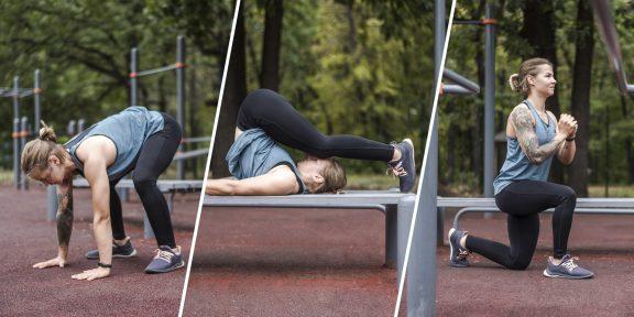 Прокачка: 4 круга простых упражнений для проверки силовой выносливости