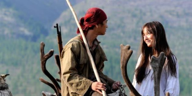 Кадр из фильма «Волк»