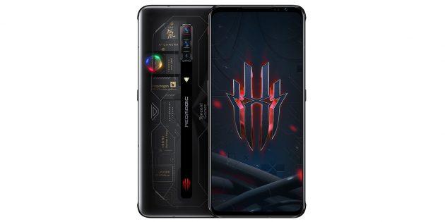 Лучшие смартфоны сентября: Nubia RedMagic 6S Pro