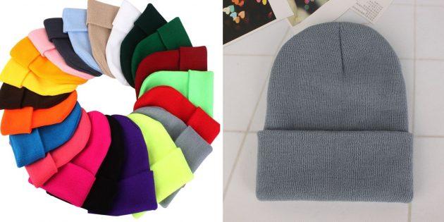 Недорогие полезные вещи с AliExpress: шапка