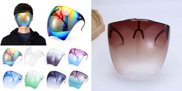 Необычные товары с AliExpress: солнцезащитная маска