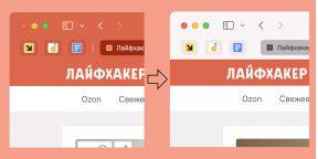 Как отключить цветной фон панели вкладок в Safari 15 на Mac