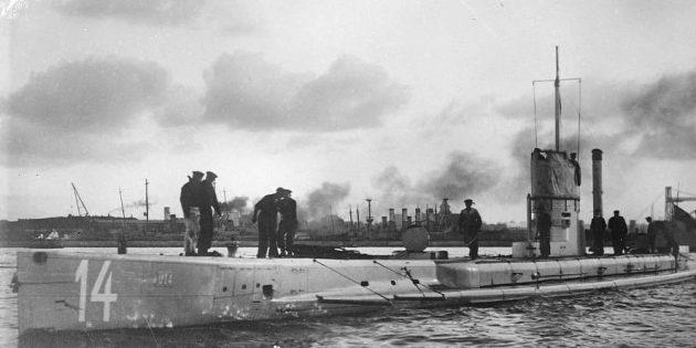 Немецкая подлодка U-14