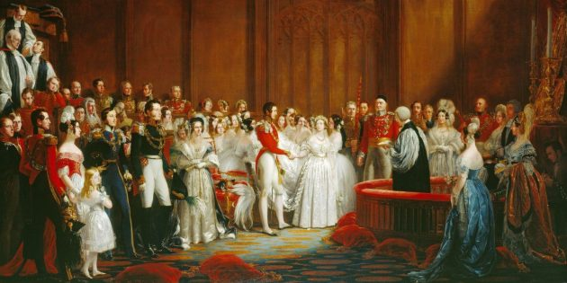 Кусок свадебного торта королевы Виктории хранят как реликвию почти 200лет