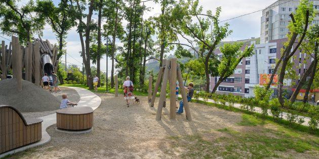 Примеры благоустройства: нагорный парк во Владивостоке