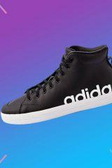 Выгодно: мужские кожаные кеды adidas со скидкой 30%