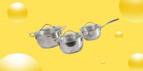Надо брать: набор посуды Vanhopper из трёх предметов со скидкой 34%