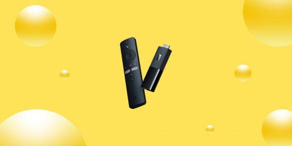 Выгодно: ТВ-приставка Xiaomi Mi TV Stick всего за 3 151 рубль