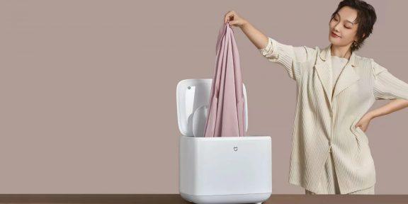 Xiaomi показала стиральную машину размером с мультиварку