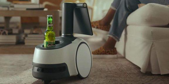 Умный экран на колёсиках: Amazon представила домашнего робота Astro