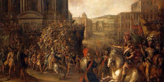 Удивительные исторические факты: понтийцы использовали против римских солдат медведей