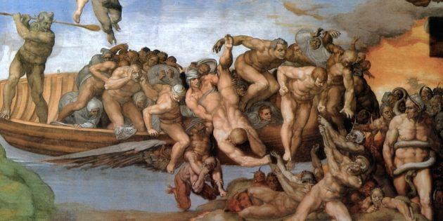 Удивительные исторические факты: Микеланджело нарисовал на фреске церковника