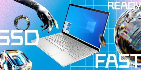 Мощный и лёгкий. 10 причин выбрать ноутбук HP Envy 13 для учёбы