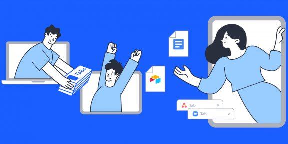 Workona для iPad позволит организовать ссылки и онлайн-документы для работы в браузере