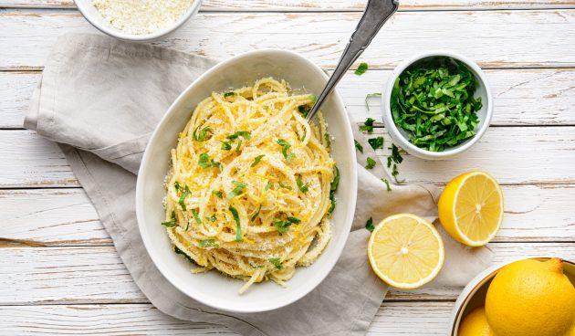 Лимонная паста