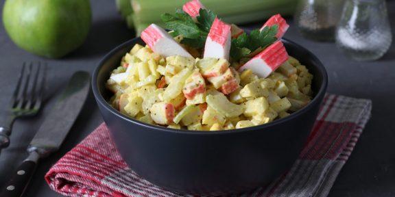 Сочные и вкусные салаты с яблоками, которые можно подать даже на праздник