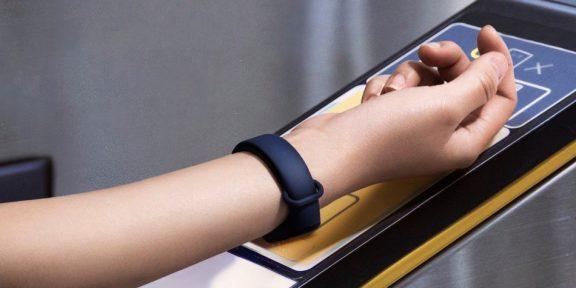 Xiaomi анонсировала ремешок для часов с функцией бесконтактной оплаты