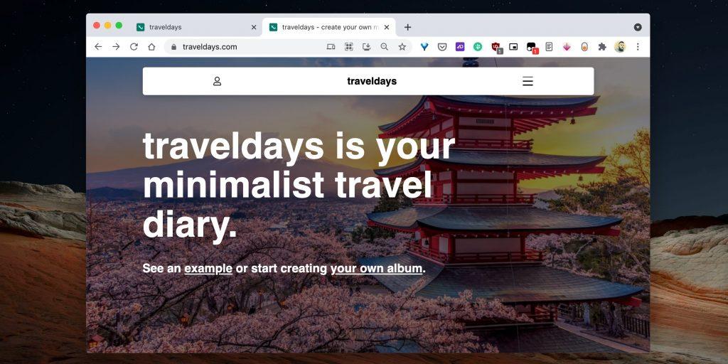 Приложение для путешествий Traveldays совмещает фото и заметки, позволяя превращать отдельные элементы в целостную историю