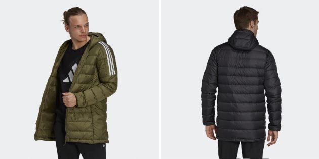 Мужская спортивная утеплённая куртка